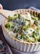 CREAMY BROCCOLI QUINOA CASSEROLE-HEALTHY GLUTEN FREE DINNER 3