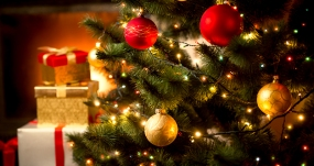 christmas tree and-presents body mind and spiritual wellness